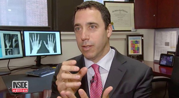 Prominent Hand and Wrist Surgeon Dr. Polatsch discusses Avocado Injuries on Inside Edition